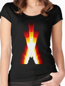wolverine fire Women's Fitted Scoop T-Shirt
