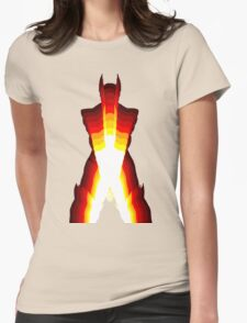 wolverine fire Womens Fitted T-Shirt