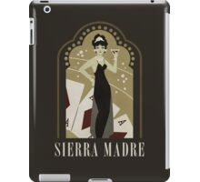 Sierra Madre Poster Design iPad Case/Skin