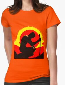 wolverinesunset Womens Fitted T-Shirt