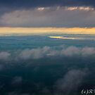Between the clouds by Rudi Venter