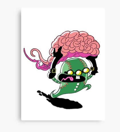 Runaway Brains Canvas Print