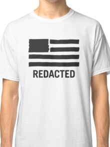 State of Secrecy (Redacted Version) Classic T-Shirt