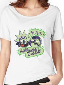 AW JEEZ, WUBBA LUBBA DUB DUB! Women's Relaxed Fit T-Shirt