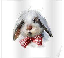 lovely rabbit Poster
