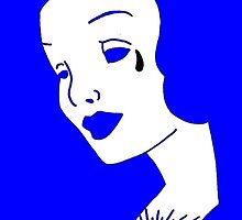 Blue Bella Muerte by Thamissinglynx