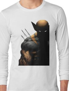 dark wolverine Long Sleeve T-Shirt