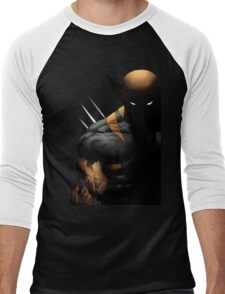 dark wolverine Men's Baseball ¾ T-Shirt