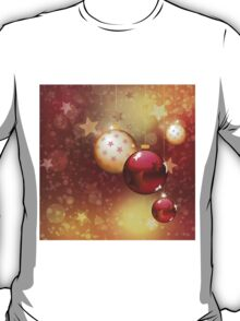 Red and gold balls T-Shirt