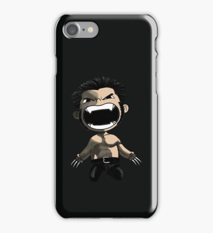 wolverine comics iPhone Case/Skin