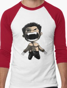 wolverine comics Men's Baseball ¾ T-Shirt