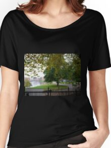 Autumn at Exeter, Devon.UK Women's Relaxed Fit T-Shirt