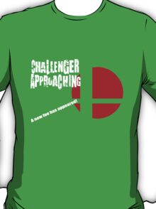 Super Smash Bros: Challenger Approaching! (3DS Style) T-Shirt