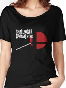 Super Smash Bros: Challenger Approaching! (3DS Style) Women's Relaxed Fit T-Shirt