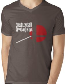 Super Smash Bros: Challenger Approaching! (3DS Style) Mens V-Neck T-Shirt