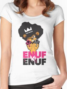 ENUF is ENUF Women's Fitted Scoop T-Shirt