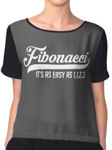 Fibonacci Chiffon Top