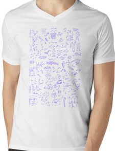 Assorted images - blue T-Shirt