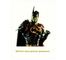 super batman Art Print