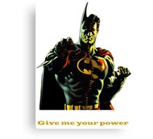 super batman Canvas Print