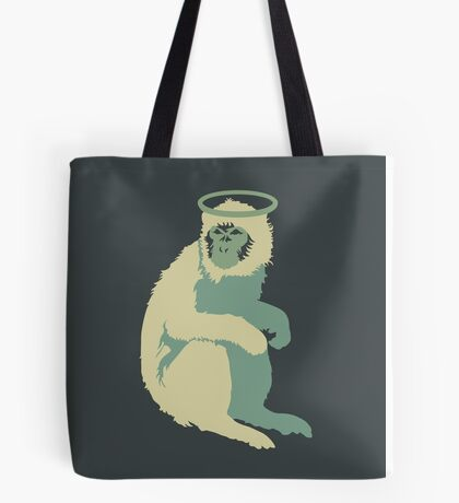 The Pixies Doolittle Monkey Minimal Rock and Roll Grunge Design Tote Bag