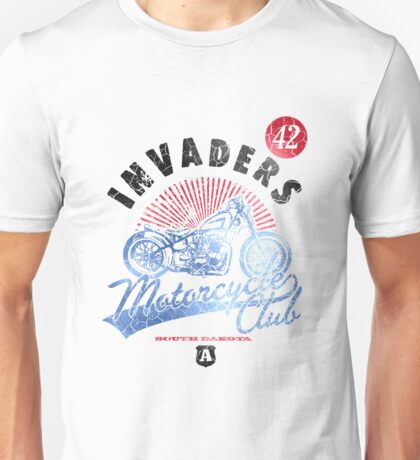 Invaders Motorcycle Club South Dakota Unisex T-Shirt