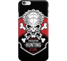 Predator Hunting Club iPhone Case/Skin