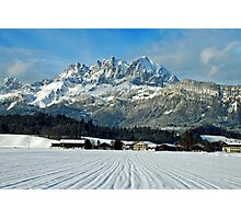 Wilder Kaiser-mountains - Austria Photographic Print
