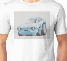 Ford Escort by Glens Graphix Unisex T-Shirt