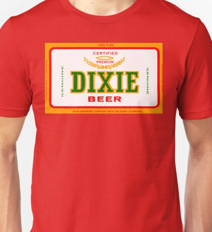 DIXIE BEER OF NEW ORLEANS Unisex T-Shirt