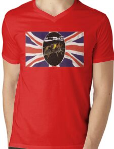 GOD SAVE THE BEES Mens V-Neck T-Shirt