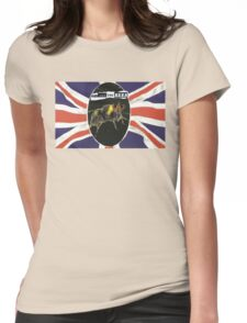 GOD SAVE THE BEES Womens Fitted T-Shirt
