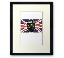 GOD SAVE THE BEES Framed Print