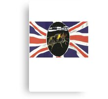 GOD SAVE THE BEES Canvas Print