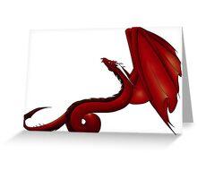 Serpent Dragon Greeting Card