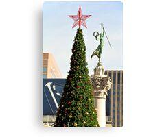 Union Square Christmas  Canvas Print