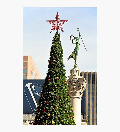 Union Square Christmas  Photographic Print