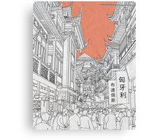 In China Canvas Print