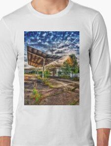 Abandoned Garage Long Sleeve T-Shirt