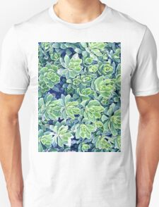 Flowers background Unisex T-Shirt