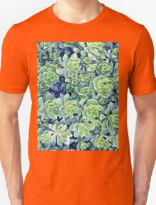 Flowers background T-Shirt