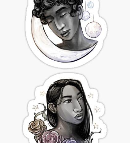 Honey & Moon Sticker