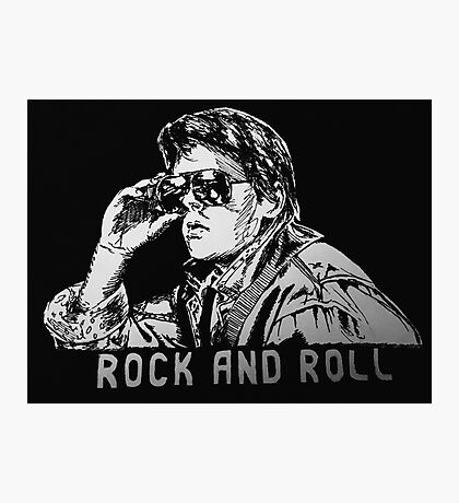 Marty McFly Photographic Print