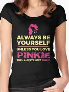 Always Love Pinkie Women's Fitted Scoop T-Shirt