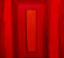 red square by GinasFineArt