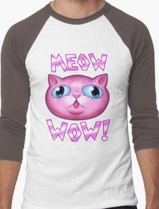 GF - Meow Wow Men's Baseball ¾ T-Shirt