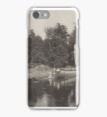 Peter Henry Emerson () River Bure at Coltishall, from Life and Landscape on the Norfolk Broads,  iPhone Case/Skin