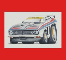 Allan Moffat XB Falcon by Glens Graphix One Piece - Short Sleeve