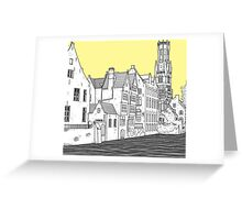 Bruges Greeting Card