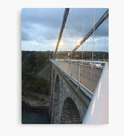 Bridge Adventurer  Canvas Print